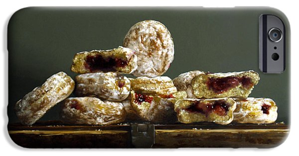 Donuts iPhone Cases - Jelly Donuts iPhone Case by Larry Preston