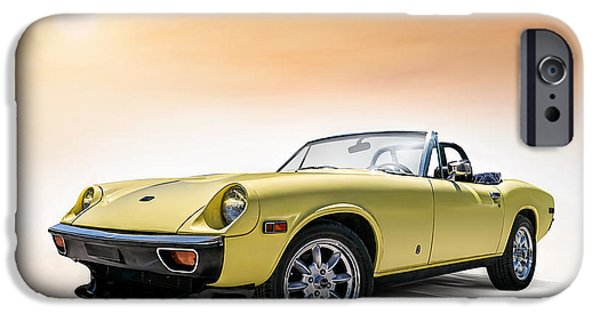 Yellow iPhone Cases - Jensen Healey iPhone Case by Douglas Pittman
