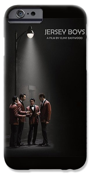 Business Digital iPhone Cases - Jersey Boys by Clint Eastwood iPhone Case by Movie Poster Prints