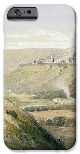 Jerusalem April 5th 1839 iPhone Case by David Roberts