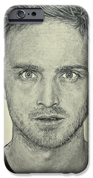 Hyperrealistic iPhone Cases - Jesse Pinkman iPhone Case by Rebekah Williamson