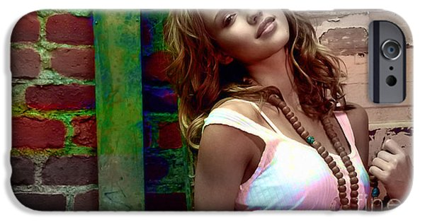 At Arrivals iPhone Cases - Jessica Alba iPhone Case by Marvin Blaine