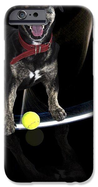 Puppy Digital iPhone Cases - Jessie iPhone Case by Mannz Gallery