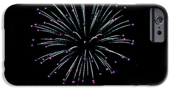 Fourth Of July iPhone Cases - Jester FW iPhone Case by Teresa Blanton