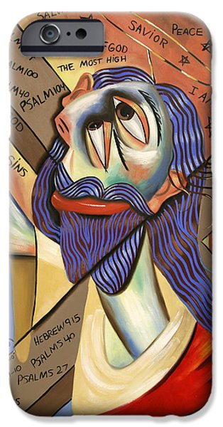Jesus iPhone Case by Anthony Falbo