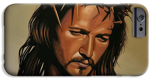 Famous People iPhone Cases - Jesus Christ Superstar iPhone Case by Paul Meijering