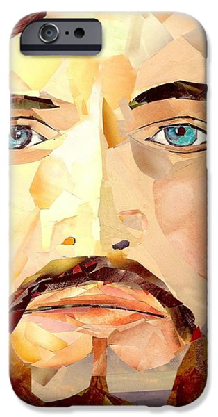 Atonement iPhone Cases - Jesus Christ - Redeemer iPhone Case by Paul Frederick Bush