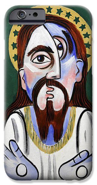 Jesus Digital iPhone Cases - Jesus Christ Superstar iPhone Case by Anthony Falbo