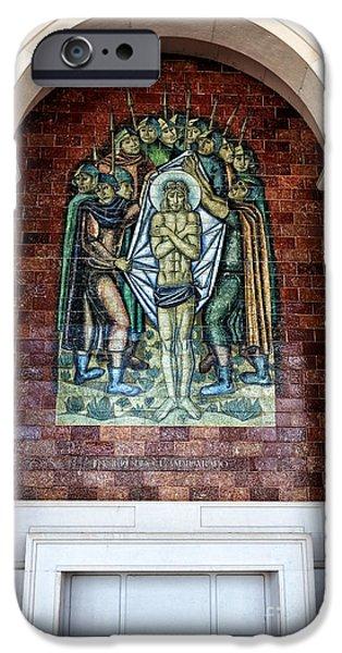 Son Of God Photographs iPhone Cases - Jesus e Despido e Amargurado iPhone Case by John Rizzuto