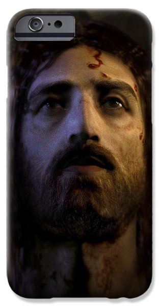 Turin Digital Art iPhone Cases - Jesus Resurrected iPhone Case by Ray Downing