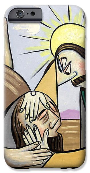 Jesus Will Meet You Where You Are iPhone Case by Anthony Falbo