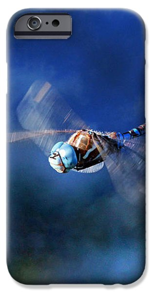 Jet Blue iPhone Case by Donna Kennedy