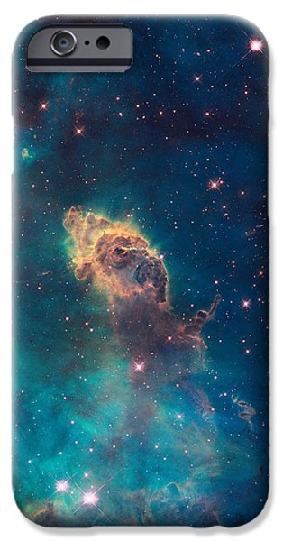 Jet Star iPhone Cases - Jet in Carina iPhone Case by Martin  FF