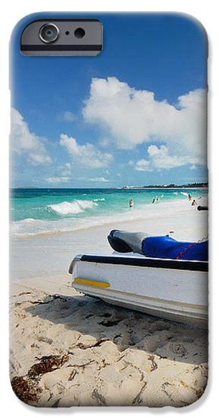 Jet Ski on the Beach at Atlantis Resort iPhone Case by Amy Cicconi