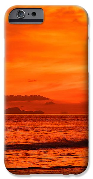 Jetski ride into the sunset iPhone Case by Colin Utz
