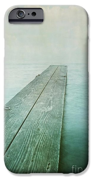 jetty iPhone Case by Priska Wettstein