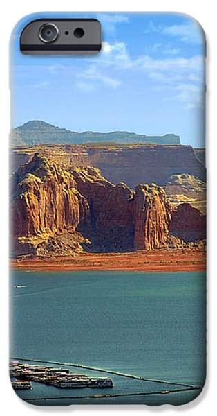 Jewel in the Desert - Lake Powell iPhone Case by Christine Till