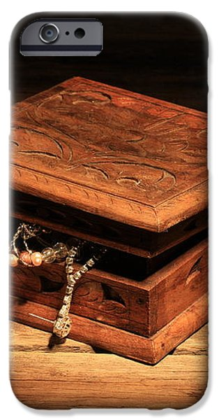 Jewellery Box iPhone Case by Keith Hawley