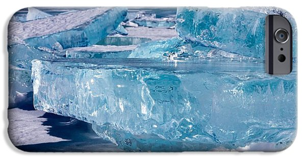 Frigid iPhone Cases - Jewels of Superior iPhone Case by Mary Amerman