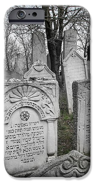 Jewish Past in Moravia iPhone Case by Baruch Y Lebovits
