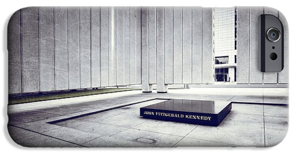President iPhone Cases - JFK Memorial iPhone Case by Joan Carroll
