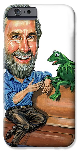 Puppets iPhone Cases - Jim Henson iPhone Case by Art