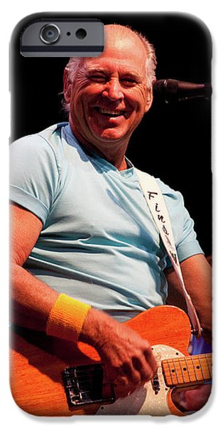 Jimmy Buffett 5626 iPhone Case by Timothy Bischoff