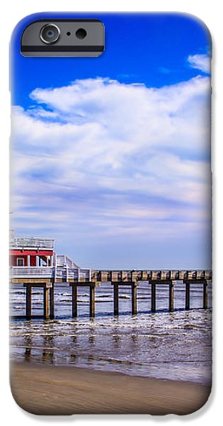 Jimmy's Pier iPhone Case by Perry Webster