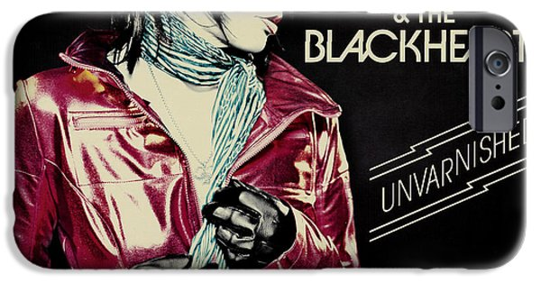 Dave Grohl iPhone Cases - Joan Jett - Unvarnished 2013 iPhone Case by Epic Rights