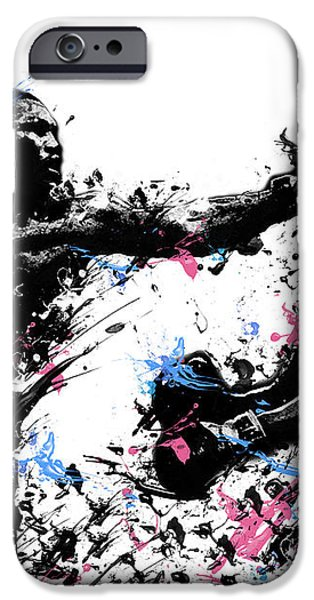 joe frazier iPhone Case by MB Art factory