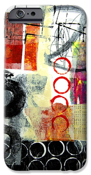 Recently Sold -  - Abstract Expressionist iPhone Cases - Joggles iPhone Case by Elena Nosyreva