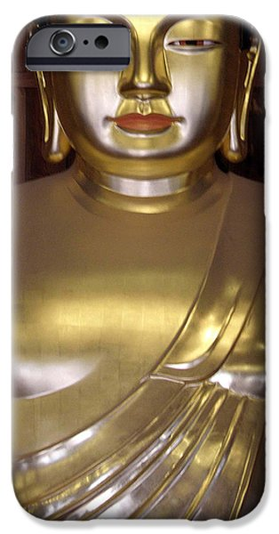 Siddharta Photographs iPhone Cases - Jogyesa Buddha iPhone Case by Jean Hall