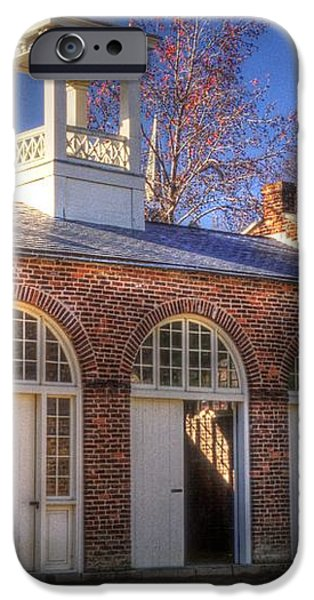 John Browns Fort - Harpers Ferry West Virginia - Modern Day Autumn iPhone Case by Michael Mazaika