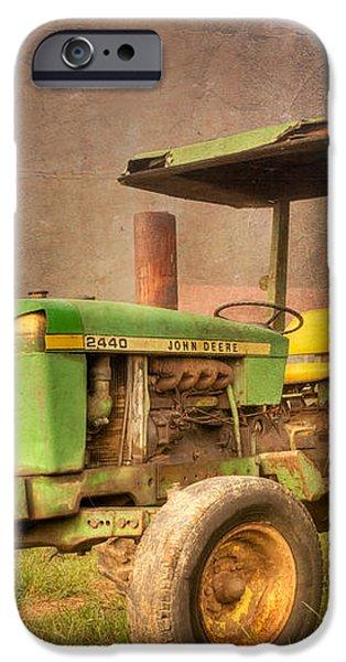 John Deere 2440 iPhone Case by Debra and Dave Vanderlaan