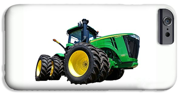 Best Sellers -  - Agricultural iPhone Cases - John Deere 9460R iPhone Case by Olivier Le Queinec