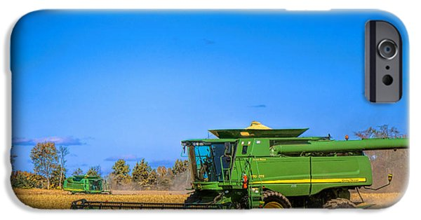 Recently Sold -  - Agriculture iPhone Cases - John Deere 9770 iPhone Case by Olivier Le Queinec