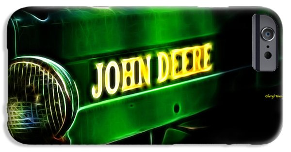 John Deere iPhone Cases - John Deere iPhone Case by Cheryl Young