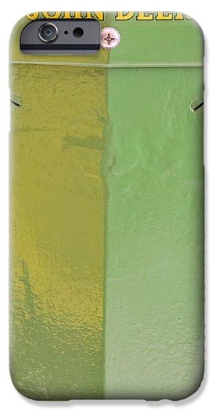 John Deere iPhone Cases - John Deere Grill iPhone Case by Susan Candelario