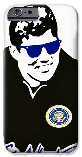John F Kennedy Signature Wayfarer iPhone Case by Jost Houk