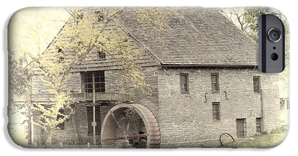 Grist Mill iPhone Cases - John Herr Grist Mill  iPhone Case by Dyle   Warren