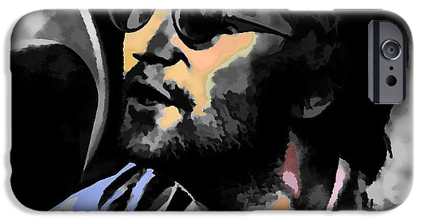 Beatles iPhone Cases - John Lennon iPhone Case by Maciej Froncisz