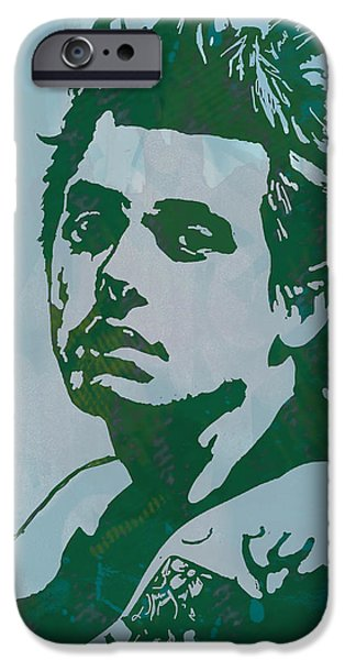 B.b.king iPhone Cases - John Mayer - Pop Stylised Art Sketch Poster iPhone Case by Kim Wang
