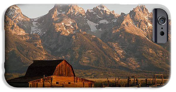 Recently Sold -  - Agricultural iPhone Cases - John Moulton Barn iPhone Case by Clarence Holmes