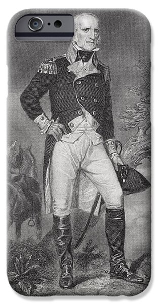 Recently Sold -  - American Revolution iPhone Cases - John Stark 1728-1822. American General iPhone Case by Ken Welsh