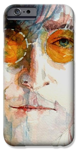 John Winston Lennon iPhone Case by Paul Lovering