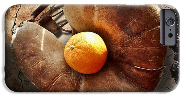 Baseball Glove iPhone Cases - Johnny Buck Baseball Catchers Glove  iPhone Case by Larry Butterworth