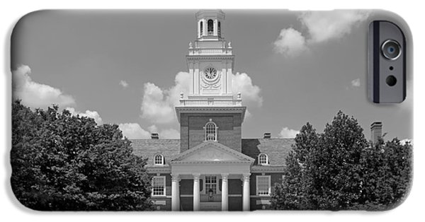 University Icons - iPhone Cases - Johns Hopkins Gilman Hall iPhone Case by University Icons
