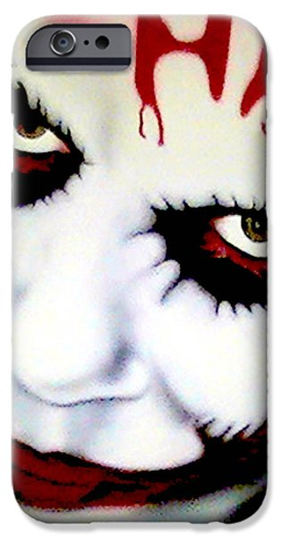 Airbrush iPhone Cases - Joker iPhone Case by Lisa Abascal