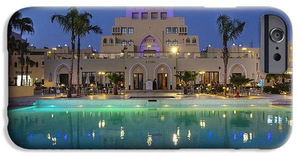 Jordan iPhone Cases - Jordan Aqaba resort 1 iPhone Case by Gal Eitan