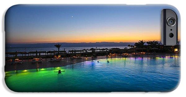 Jordan iPhone Cases - Jordan Aqaba resort 2 iPhone Case by Gal Eitan